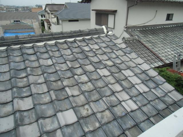 居宅屋根瓦補修 施工後
