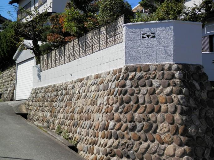 塀改修 施工後